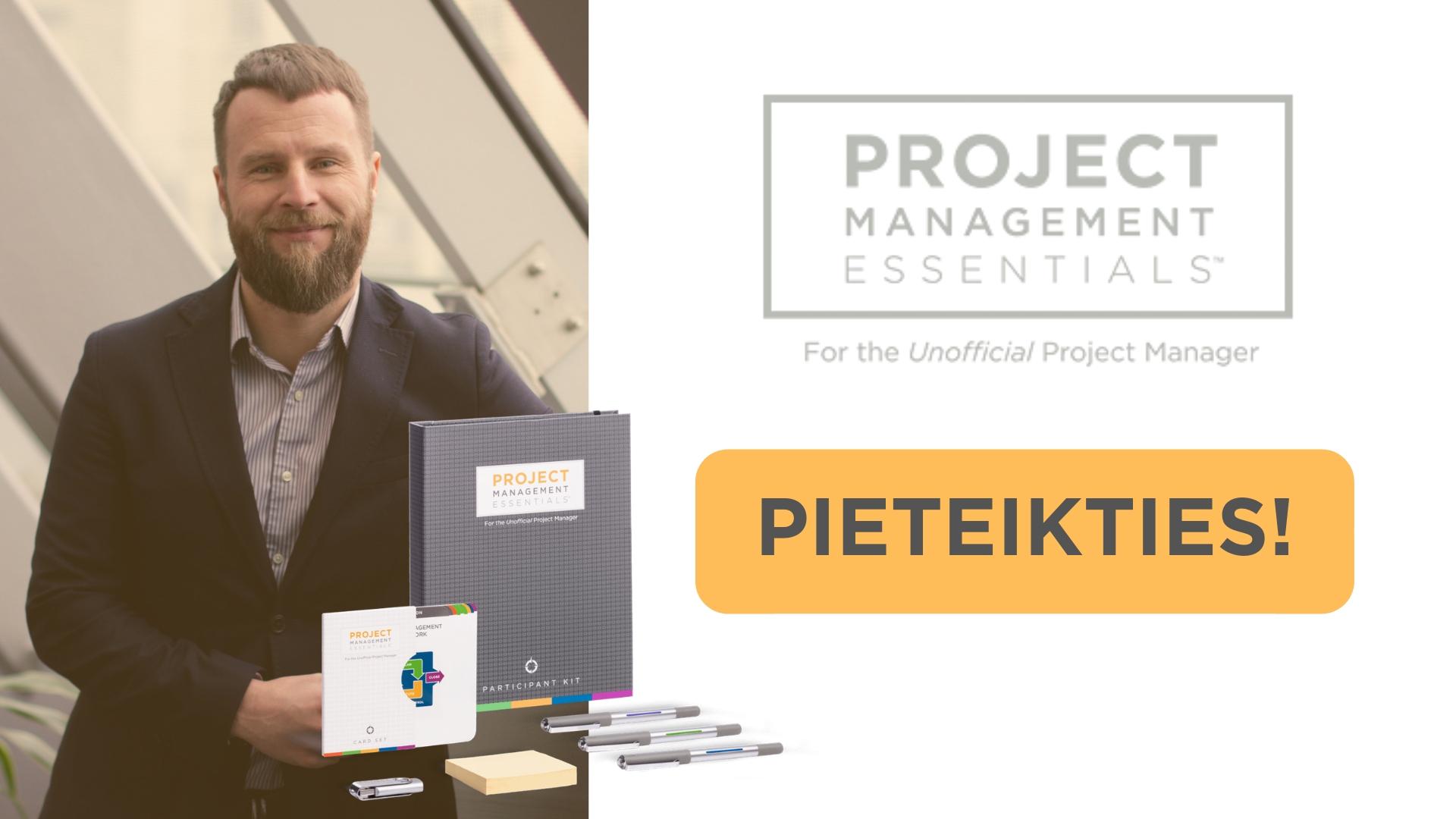 Projektu vadība FranklinCovey Latvia Ivo Ālmanis apmācības treniņš kursi